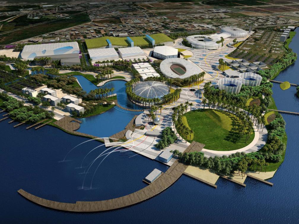 Plano Geral Urbanístico do Parque Olímpico e Paraolímpico Rio 2016
